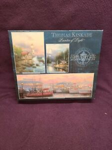 3 Thomas Kinkade Deluxe Jigsaw Puzzles Painter Of Light In One Box