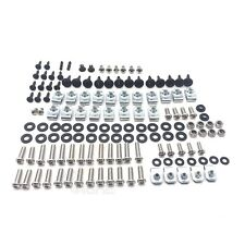 Complete Silver Fairing Bolt Kit Body Screws for Yamaha 2007 2008 YZF R1