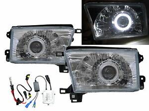 Hilux Surf N180 MK3 95-02 5D Guide LED Halo HID Headlight CH V2 for TOYOTA RHD