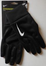 NIKE Adult Unisex Hyperwarm Gloves Color Black/White Size L New