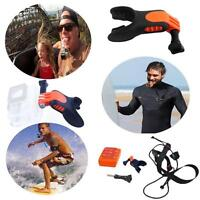 Surfing Camera Mouth Mount Water Skiing Sports Holder Set For GoPro Hero 4 3+