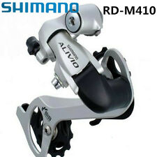 Shimano ALIVIO RD-M410 Rear Derailleur 8 Speed MTB Bicycle Long Cage Silver