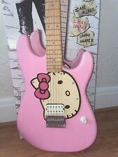 Fender Hello Kitty Squier Stratocaster Electric Guitar Pink