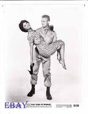 Tab Hunter holds Sophia Loren barefoot VINTAGE Photo That Kind Of Woman