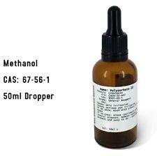 More details for methanol 99.98% 50ml dropper bottle - model engine fuel - hobby fuel