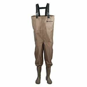Hodgman Mackenzie Cleat Chest Bootfoot Fishing/Hunting Waders Size - 9