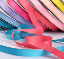 "10 Meters Grosgrain Ribbon 1/4"" 3/8"" 5/8"" 3/4"" Christmas Party Craft Decoration"