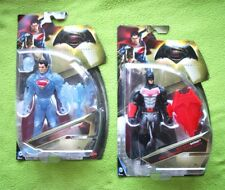LOT 2 BATMAN V SUPERMAN Action Figures: SUPERMAN & PHANTOM. DC MATTEL, BRAND NEW