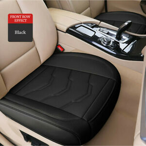 Four Seasons Leather Car Front Single Seat Cover Cushion Breathable Universal