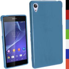 Custodie preformate/Copertine Blu Per Sony Xperia Z per cellulari e palmari