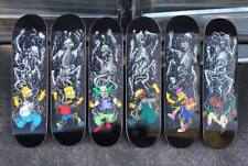 RARE THE SIMPSONS x ZERO SKATEBOARDS SPRINGFIELD MASSACRE 6 DECK SET HOMER BART+