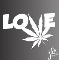 "Marijuana Leaf /""Rasta/"" Sticker #FS453 Weed 420 Car Truck Bumper Laptop Decal"