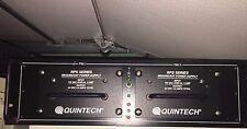 QUNITECH REDUNDANT POWER SUPPLY INPUT 110 VAC 47/60 HZ 2 AMP OUT 24 VDC 4.8 AMPS