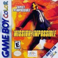 Mission Impossible - Game Boy Color