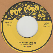 POPCORN REPRO: DAV KIPP-Yea! My Baby Loves Me/JEANIE ALLEN-I Really Love You