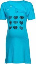 Cotton Women's Maternity Nursing Breastfeeding Nightdress Shirt Gown M101