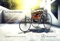 Mercedes Benz-Patent Motorwagen 125 Jahre Prospekt 2011 1/11 brochure prospectus