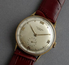 UNIVERSAL GENEVE 18K Solid Gold Vintage Gents Watch 1950's