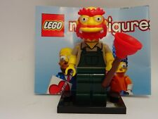 Lego The Simpsons - Minifig - Willie Le Jardinier - 71009 Serie 2