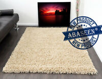 SOFT THICK PILE PLAIN SMALL X LARGE SHAGGY RUGS MODERN RUG BEDROOM LIVING ROOM