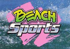 BEACH SPORTS 1992 PROMO CARD CHRISTIAN FLETCHER SP