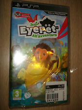 GAME PSP EYEPET AT THEADVENTURE VIDEO GAME IN ITALIAN SEALED