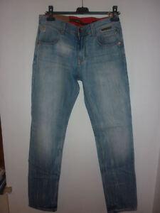 JEANS pantalone YELL made in italy uomo ragazzo elegante sportivo vintage 2 44