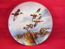 Danbury Mint  On the Wing  Late Comers by David Maass  NIB (1)