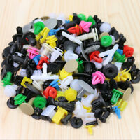 200x Car Door Trim Clip Bumper Rivet Screws Panel Push Pin Fastener Kit  Plastic