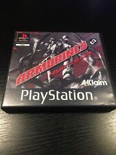 ARMORINES PROJECT SWARM - SONY PLAYSTATION PSONE PS1 GAME - RARE PROMO VERSION!