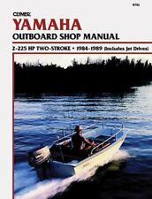 1984 1989 2-225 Hp Yamaha Outboard Marine Clymer Repair Service Shop Manual B783