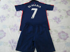 Kit de fútbol del Manchester United Talla 12-13 años número 7 Di Maria Nike