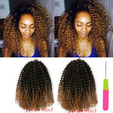 12'' Synthetic Afro Curly Twist Hair Mali Bob Crochet Braids Curl Hair Extension