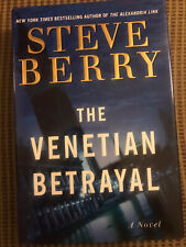 The Venetian Betrayal by Steve Berry  SIGNED