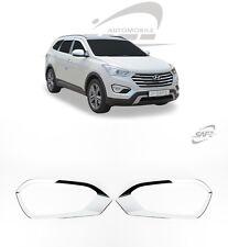 SAFE Chrome Fog Lamp Molding 2Pcs For Hyundai Santa Fe XL Maxcruze 2013 2016+