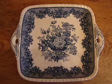 Antique plaque, Mason 's Ascot, bleu, 28cm, 2 disponible