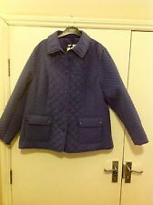 M&S COLLECTION Water Repellent Jacket with Storm wear Size: 18