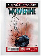 WOLVERINE #9  1st Printing - Marvel NOW!                    / 2014 Marvel Comics