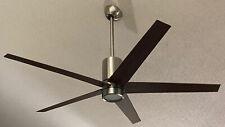 "Minka Aire F828-BN/DW Symbio Nickel/Walnut 56"" DC Ceiling Fan w/ LED & Remote"