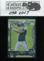 2015 Topps Chrome Rookie #137 Bryce Petty RC (New York Jets)