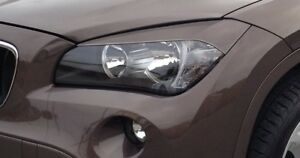 BMW X1 E84 Headlight Headlamp Eyelids (Eyebrows)