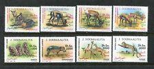 Somalia 611-618 MNH, Animals Pets Tiere Zwierzęta Gazelle Antelopes 1992 x29752