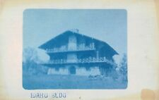 Cyano-Type,Idaho Bldg,Alpine Architecture,Tarbell Photo,Lake Geneva,Wis.,c.1910