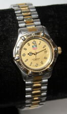 Tag Heuer 2000 Professional Two-tone Sapphire Crystal Ladies Watch 964.008R NICE