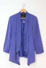 WISH Dusty Purple Proxy Blazer Draped Front Size 10 Size S