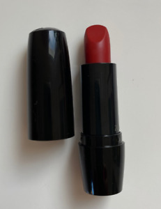 LANCÔME Color Design Lipstick Full Size 190 Red Addiction Matte NEW