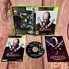 Xbox Game Hitman Contracts Microsoft in case with manuals action shooting vgc