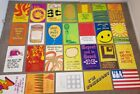 Lot 26 VINTAGE 1970 Quote Sayings, Art POSTERS by Argus - Patricia Ricci - Retro