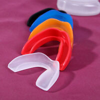 Sports Shock Teeth Mouth Boxing Dental Grindings Protectors Bruxism Guards E&F