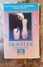 Equinox Traveler Portable Water Filter NEW in box CLEAN WATER